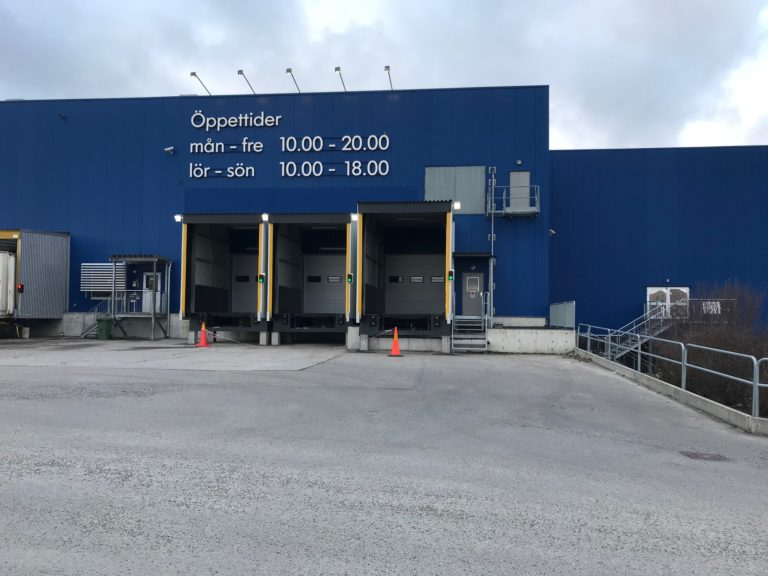 Lastkajar IKEA ombyggnation